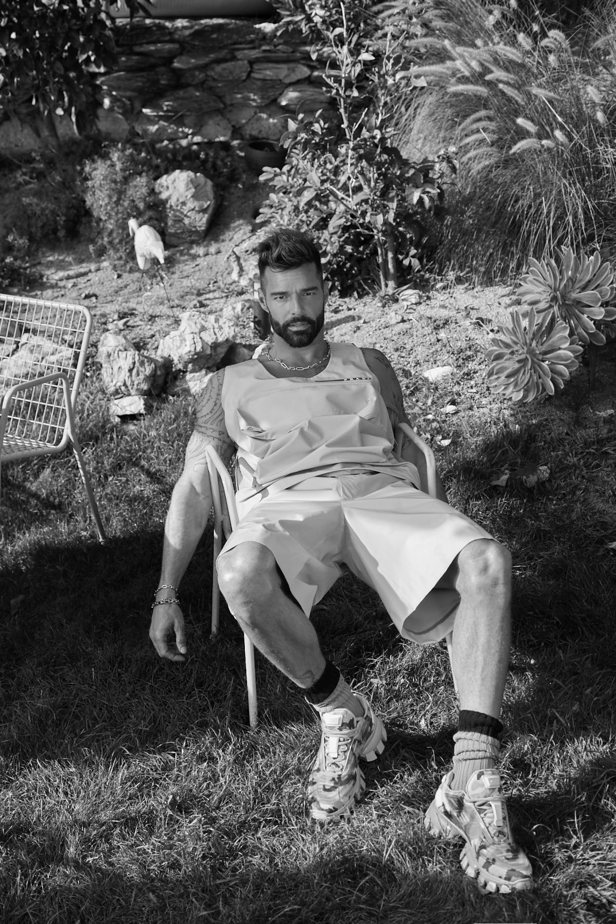 Ricky Martin for L'Officiel Hommes Italia by Nicolas Wagner