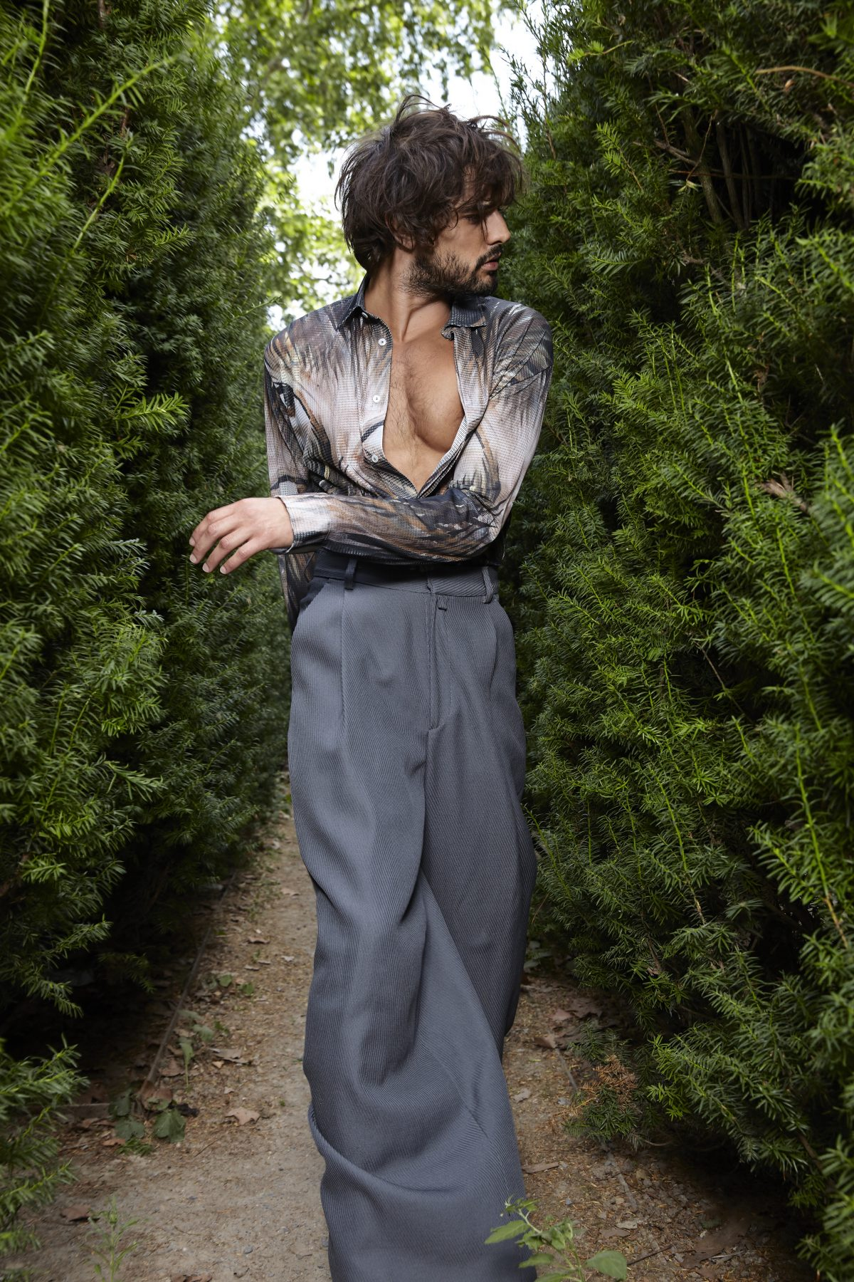 Marlon Teixeira for L'Officiel Hommes Italia by Nicolas Wagner
