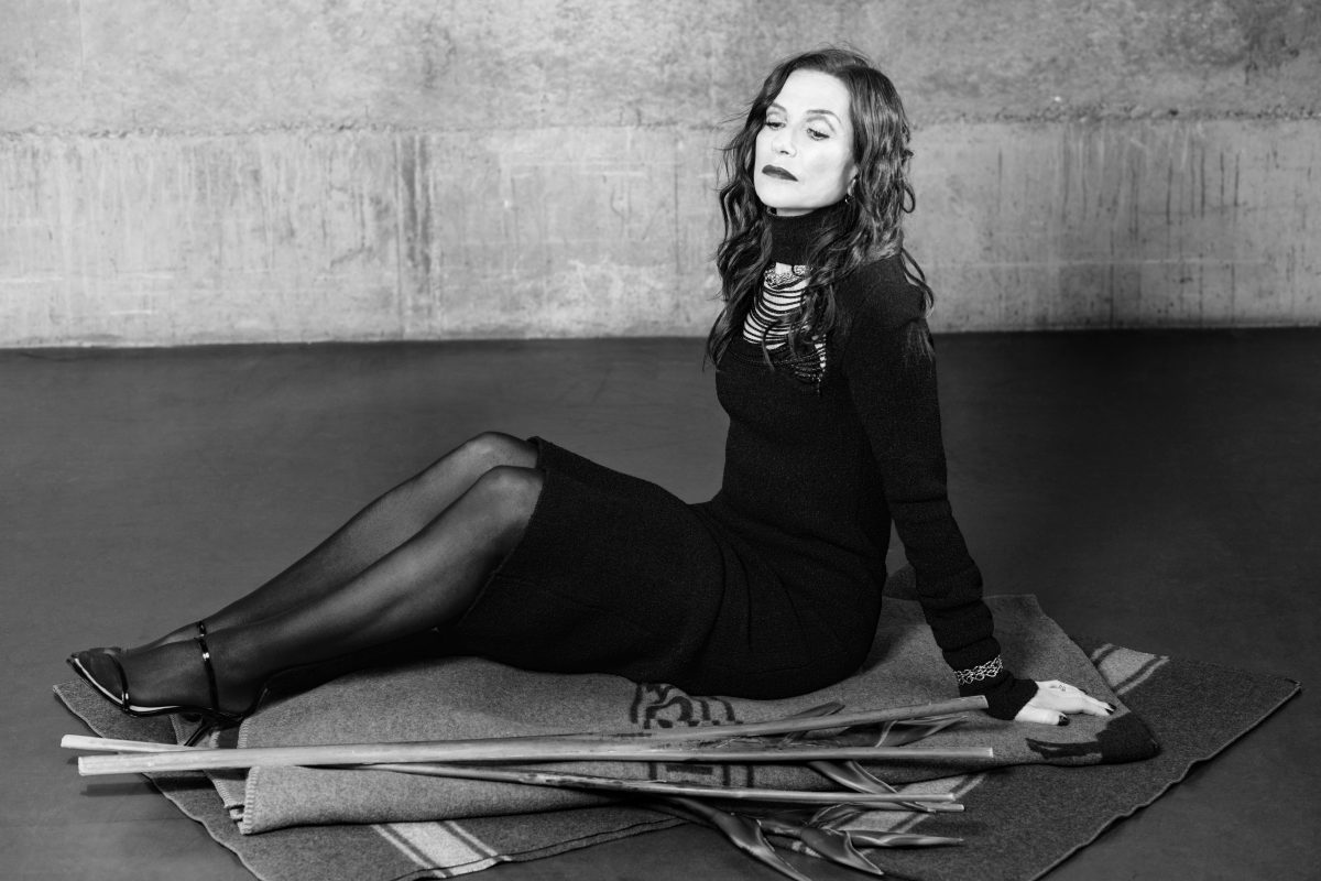 Isabelle Huppert for CRUSH fanzine by Nicolas Wagner